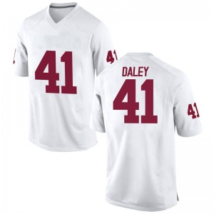 Kjakyre Daley Nike Oklahoma Sooners Men's Replica Football College Jersey - White
