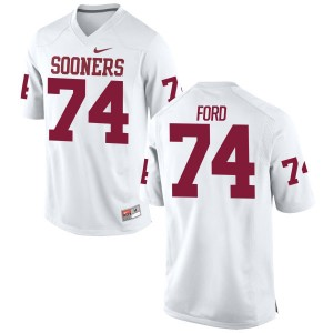Cody Ford Nike Oklahoma Sooners Men's Authentic Football Jersey  -  White