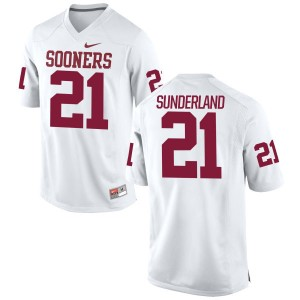 Will Sunderland Nike Oklahoma Sooners Youth Limited Football Jersey  -  White